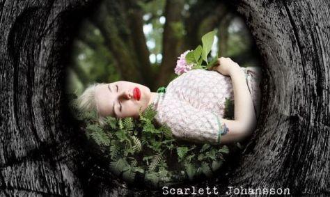Capa do primeiro álbum de Scarlett Johansson. Foto de David Sitek